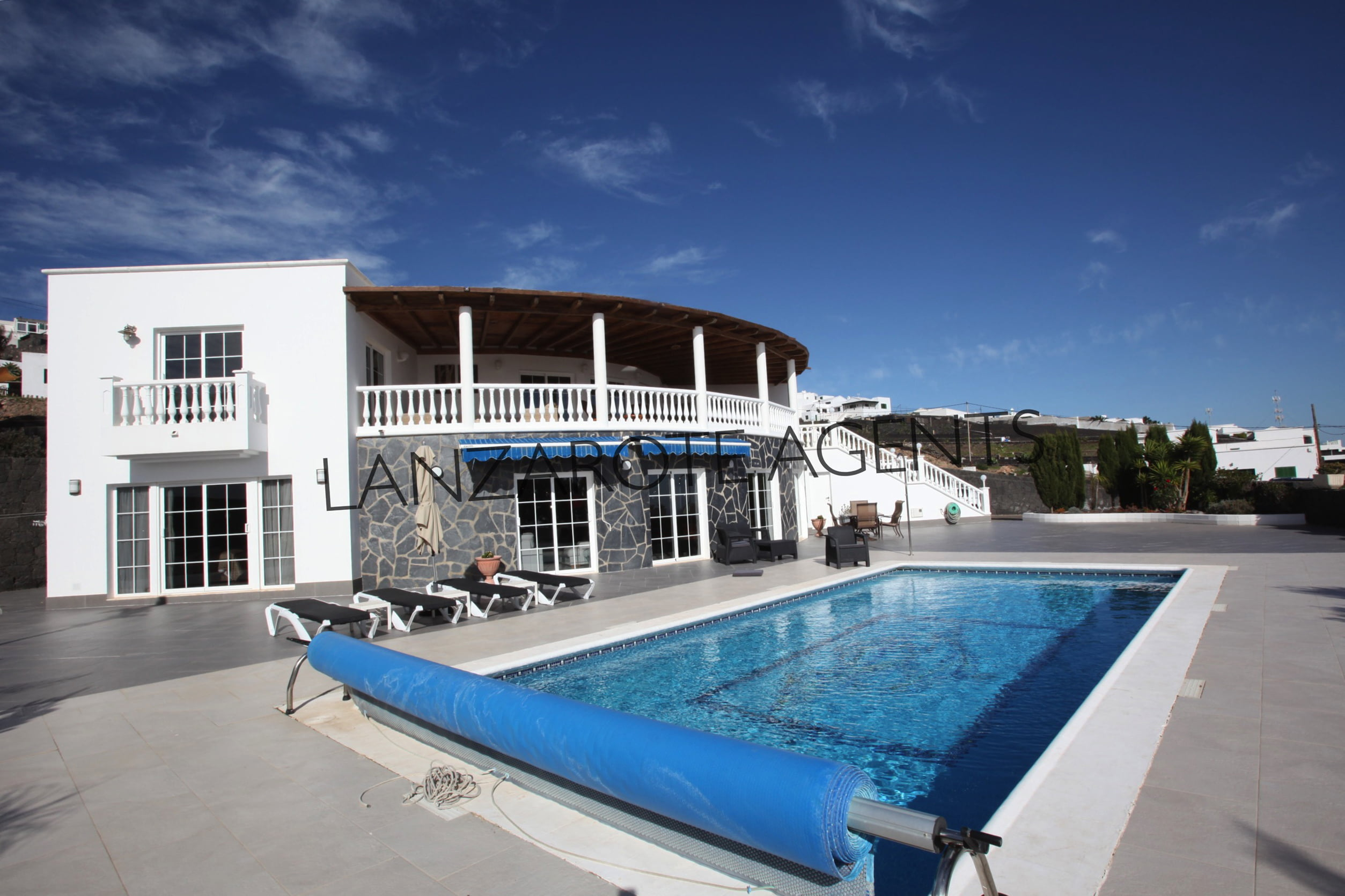 NOT TO BE MISSED THIS WONDERFUL LUXURY VILLA IN TIAS WITH FANTASTIC PANORAMIC SEA VIEWS