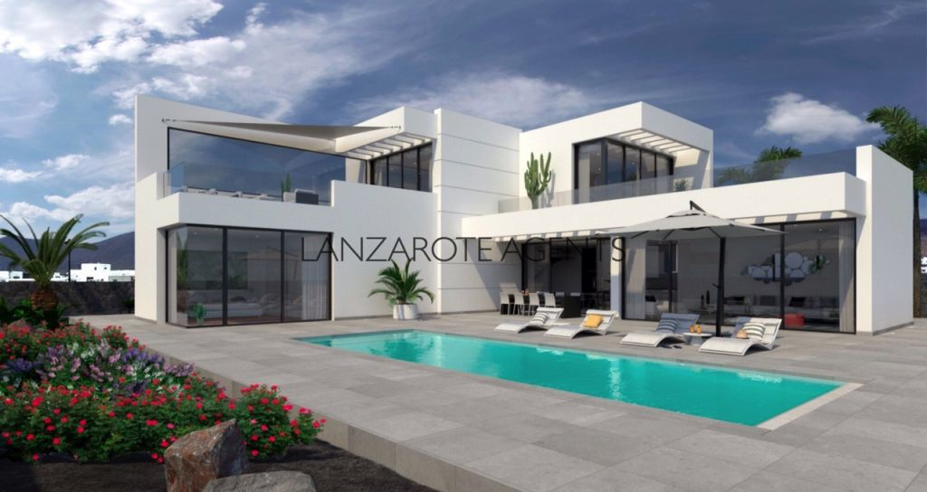 Fabulous Plot of Land In Las Breñas With a Fantastic Architect Project and License to Build