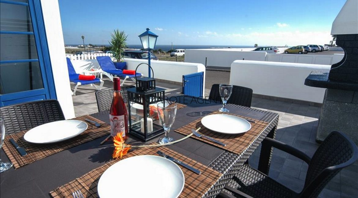 Marina Azul outside terrace with sea view new