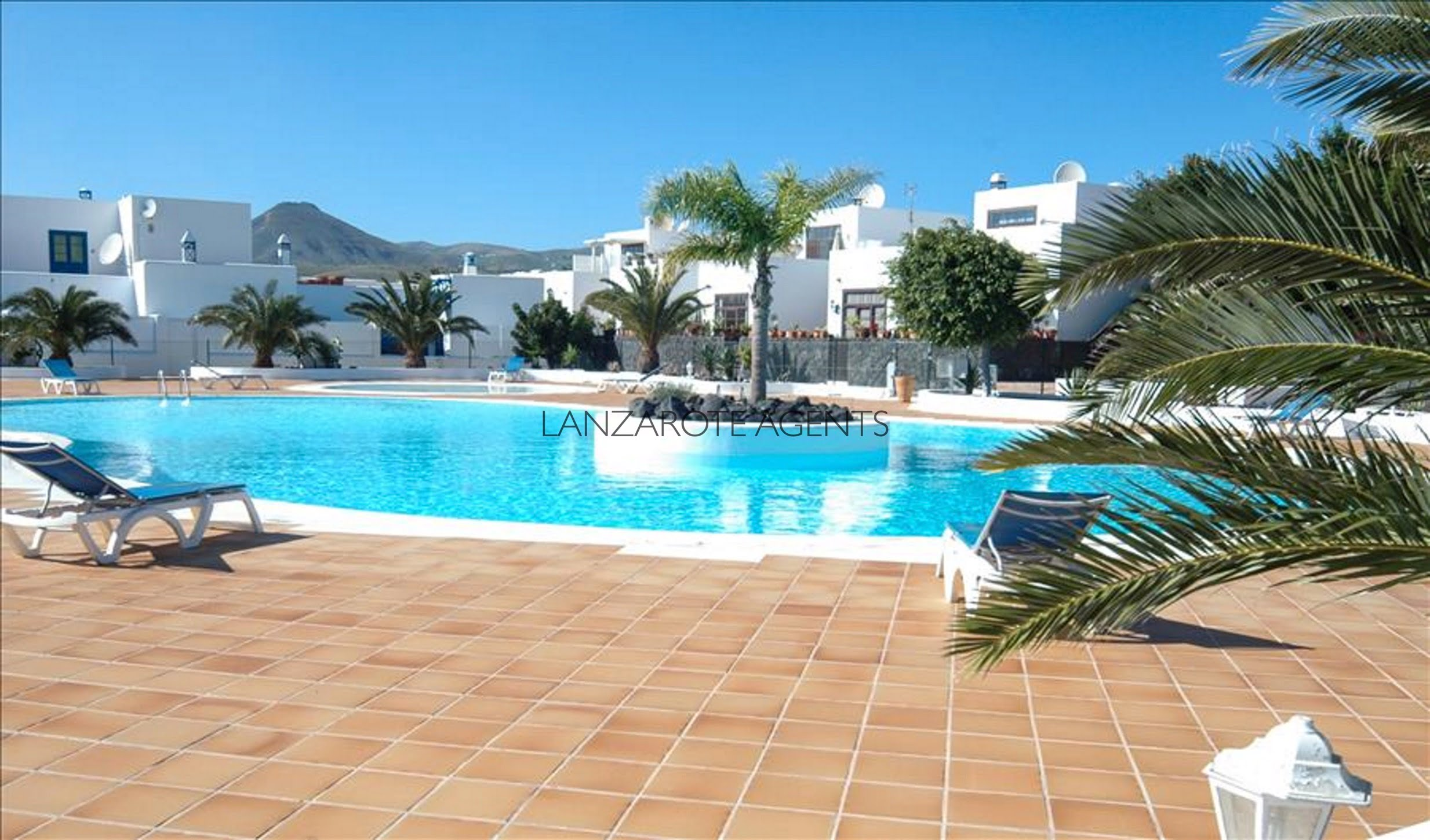 Perfect 3 Bedroom Villa in Puerto Calero with Great Sea Views and Communal Pool