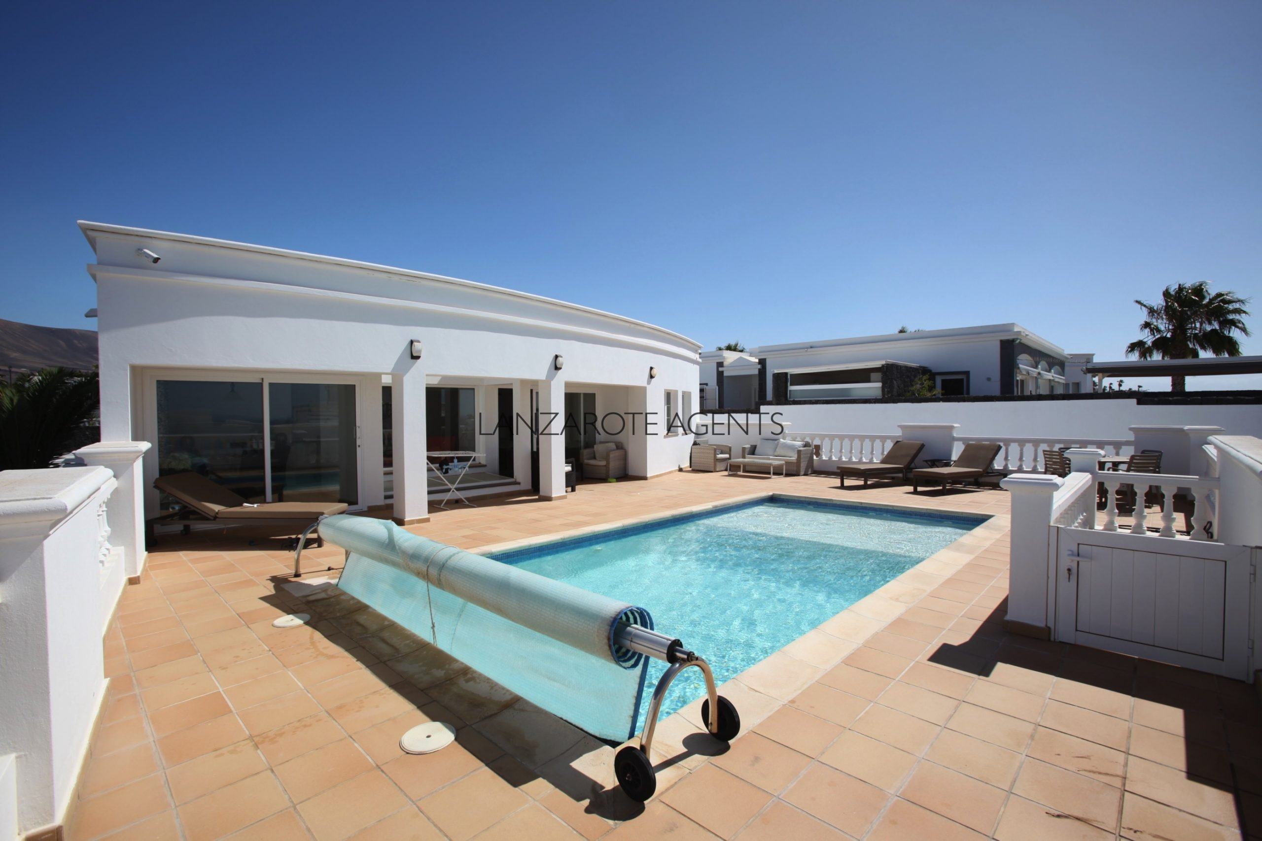 Best Value For Money in Puerto Calero!! Magnificent Villa with 6 Bedrooms and Sea Views