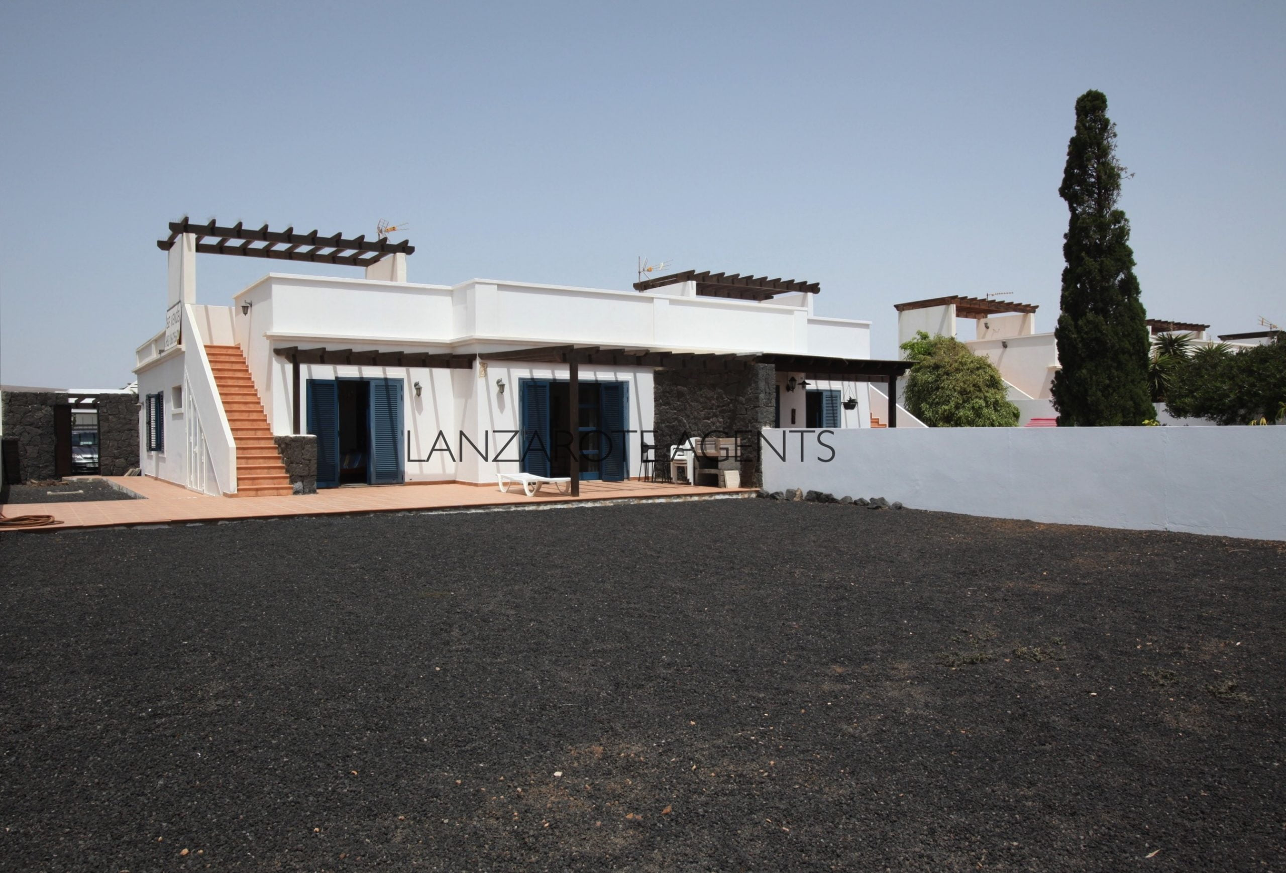Lovely Semidetached Three Bedroom Villa Near Playa Blanca Town Centre with Great Potential