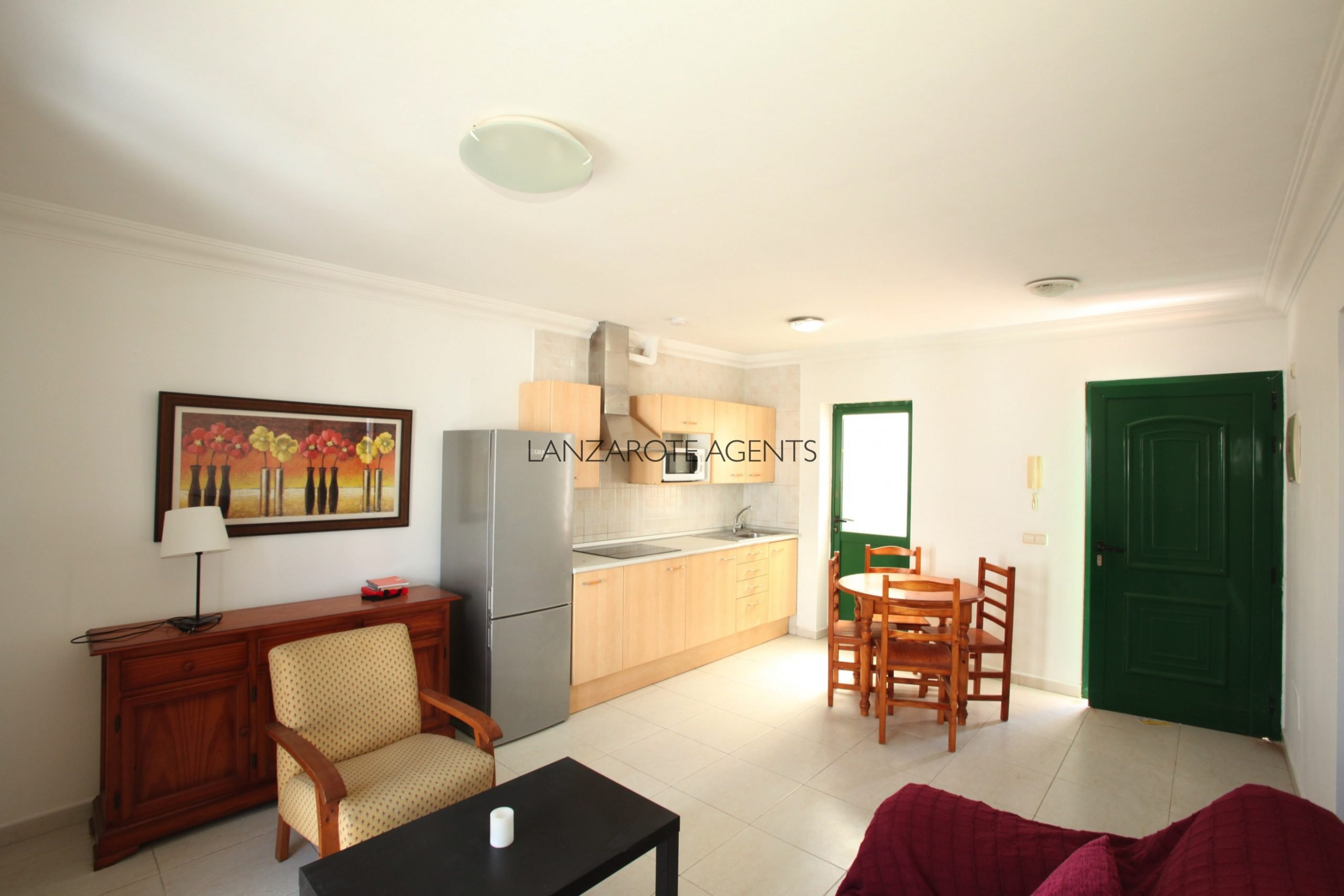 One Bedroom Flat in Playa Blanca Town Centre