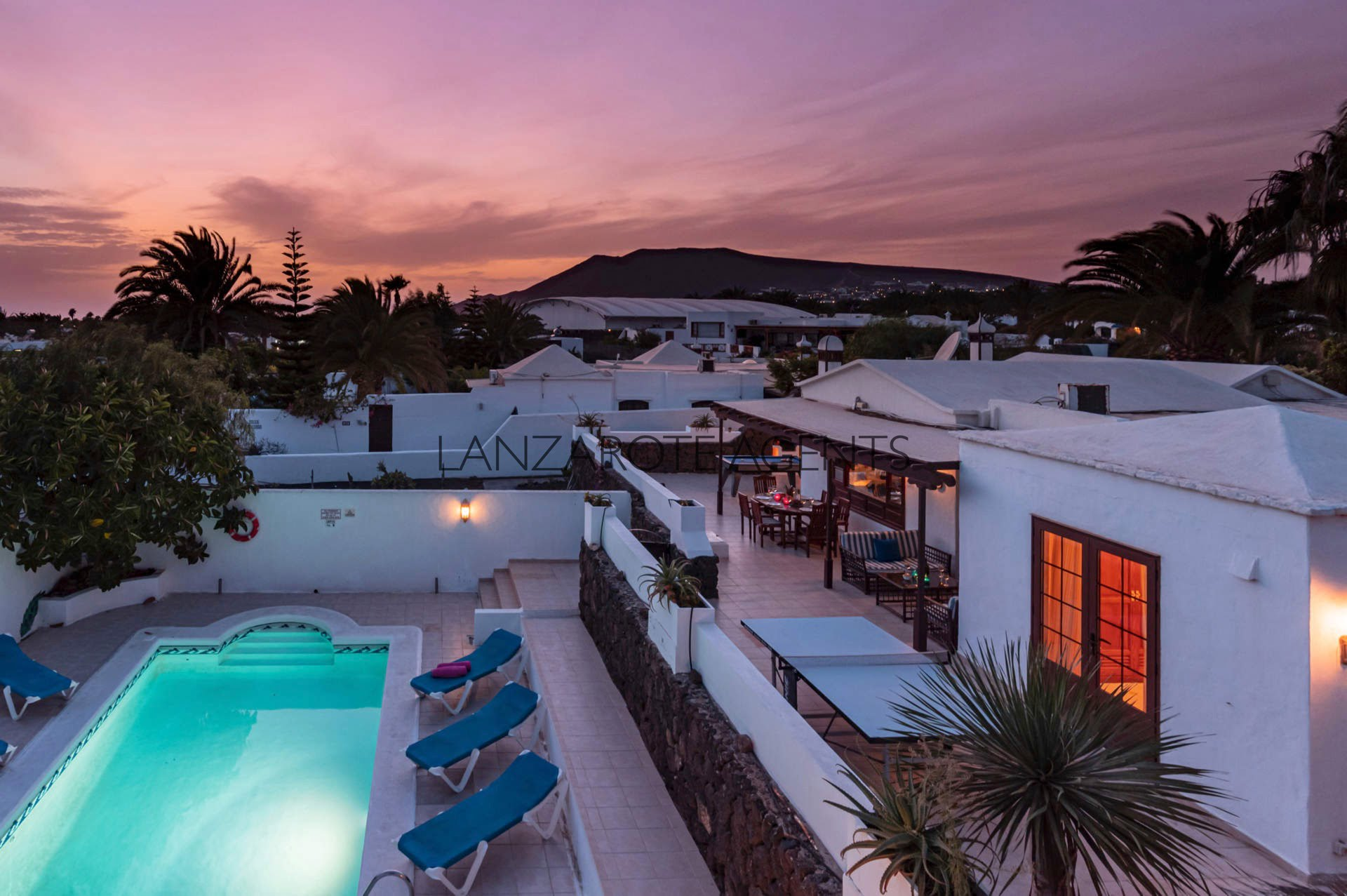Fantastic Detached Villa in Las Margaritas on a Good Size Plot with Private Pool and Sea Views