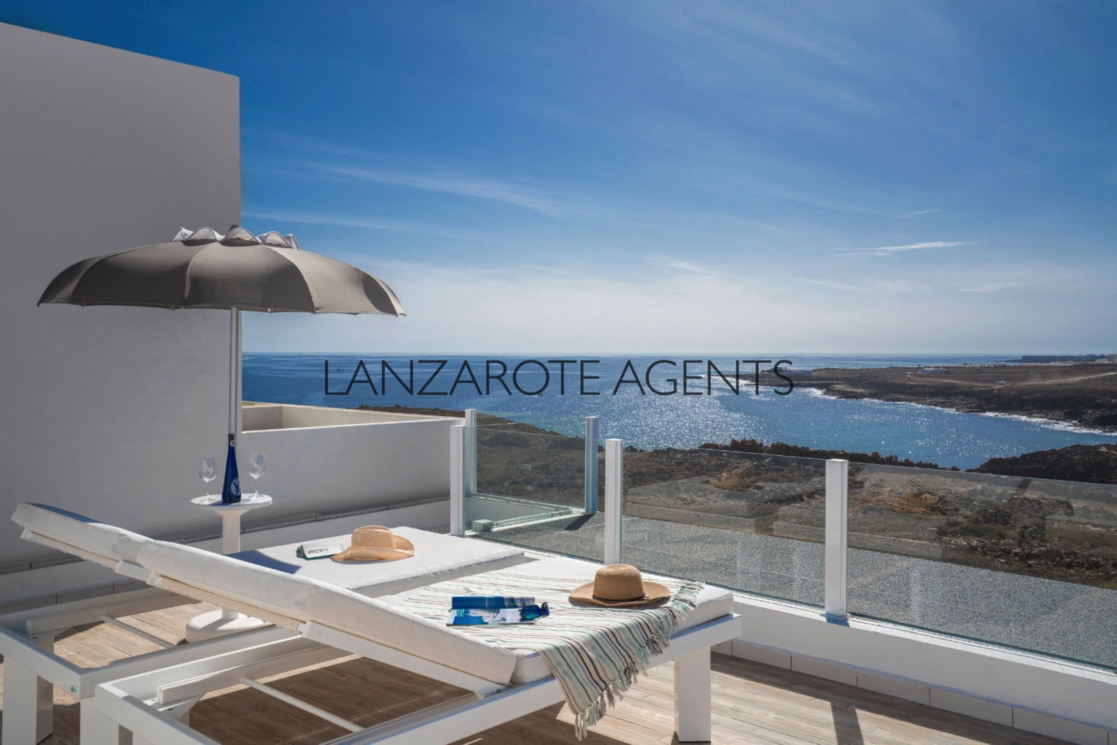 Terraced House in Los Ancones a Hamlet near Costa Teguise with Stunning Sea Views and a Self Contained Apartment