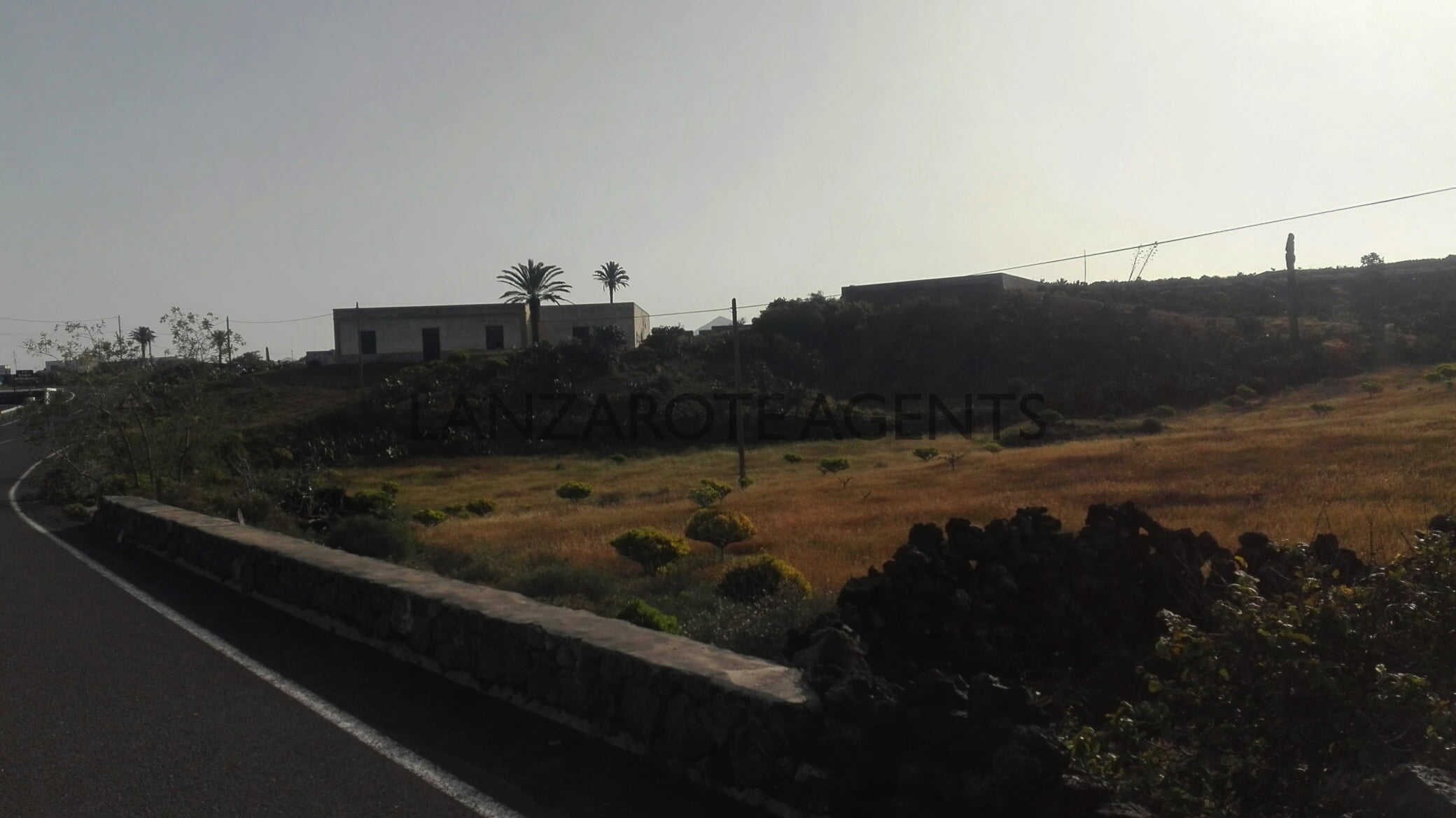 Fantastic Old Canarian Farm House For Renovation with 17.000 m2 of Land and Great Views