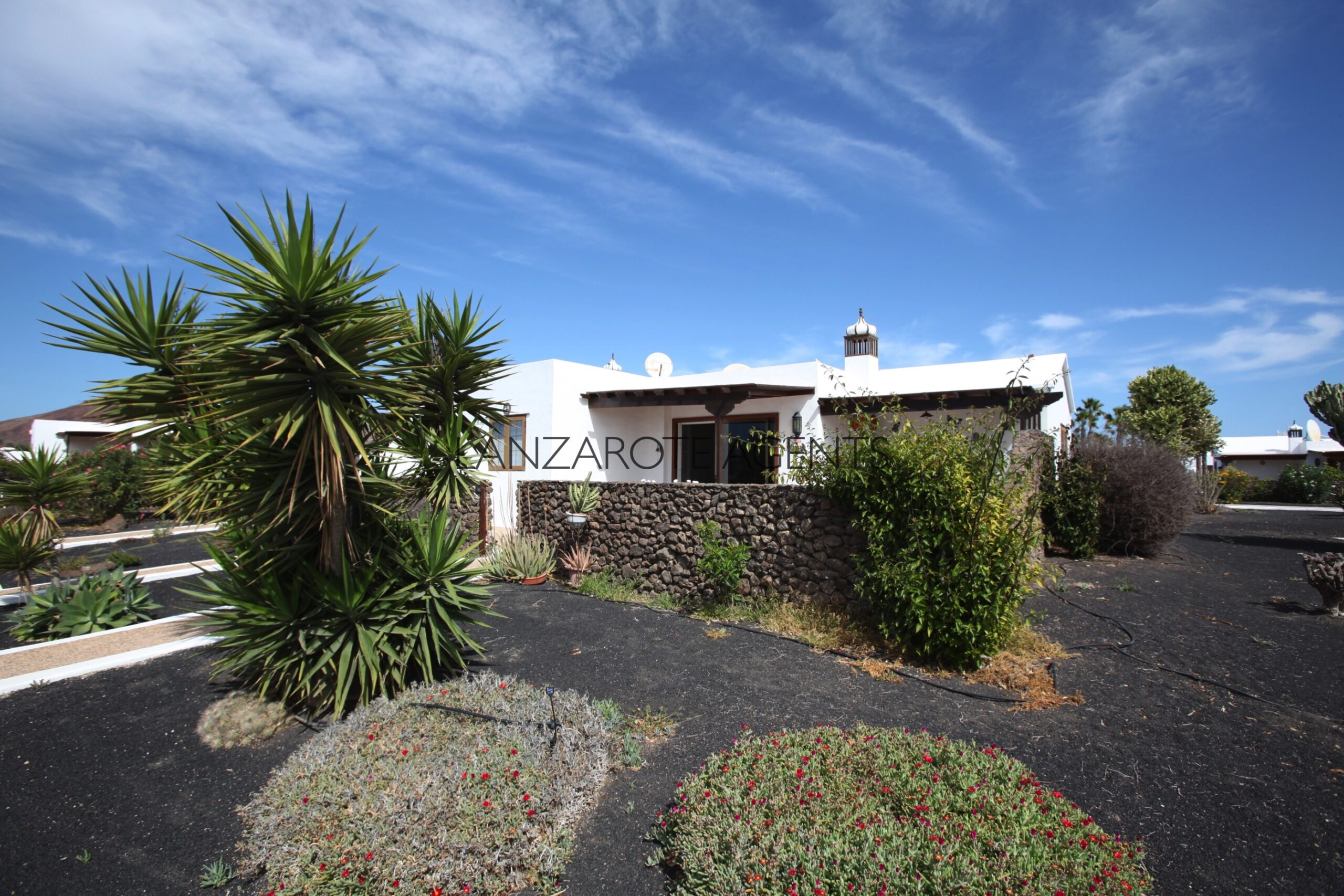 Newly Refurbished Semi Detached Villa at only 10 min Walk into Playa Blanca Town Centre with Communal Pool and Fabulous Sea Views