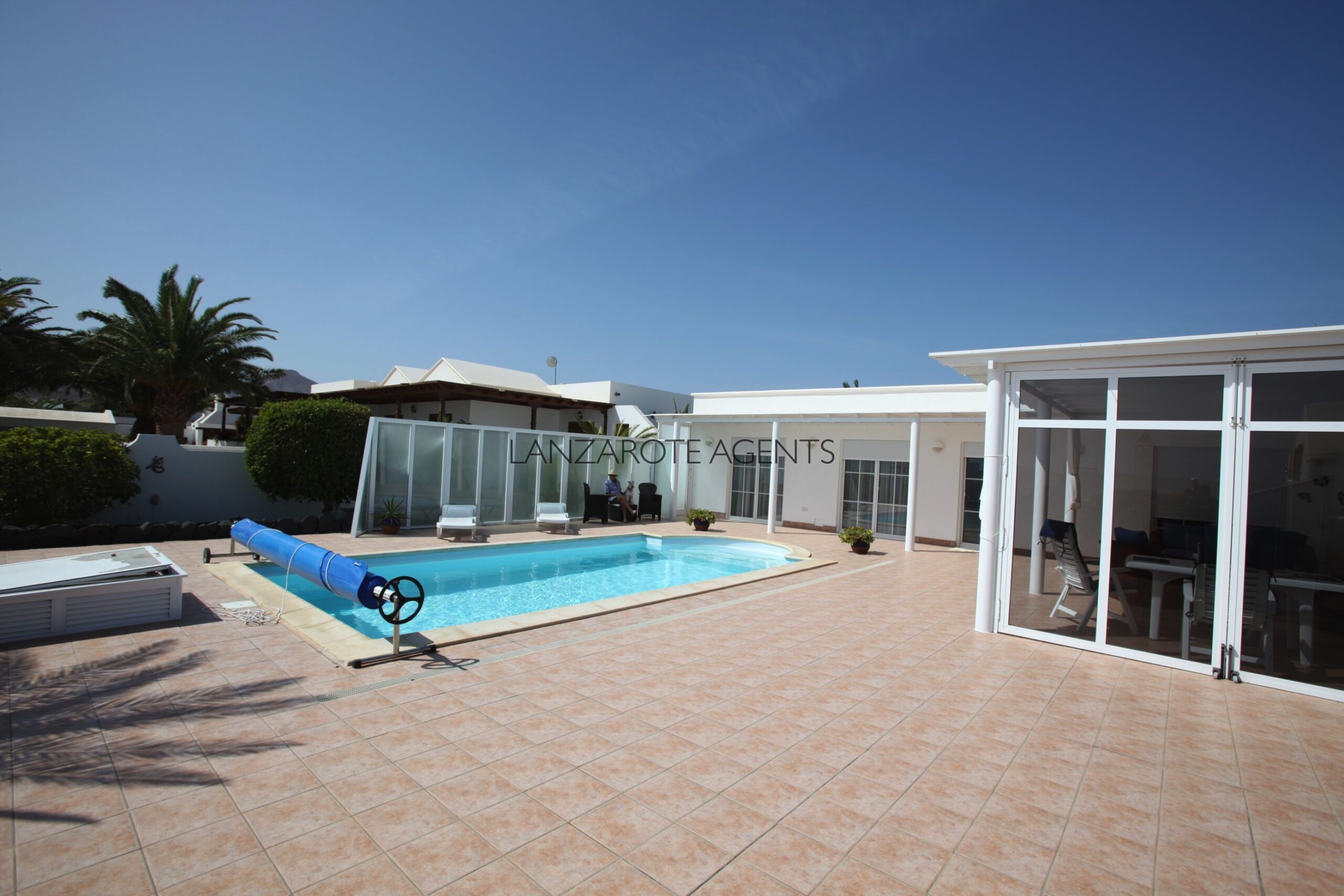 Large Modern Detached Luxury Villa in Puerto Calero with Private Pool and High Standard